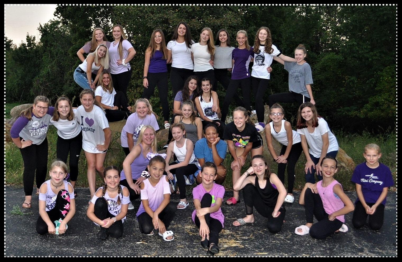2018-2019 MDM Dance Project Company Dancers