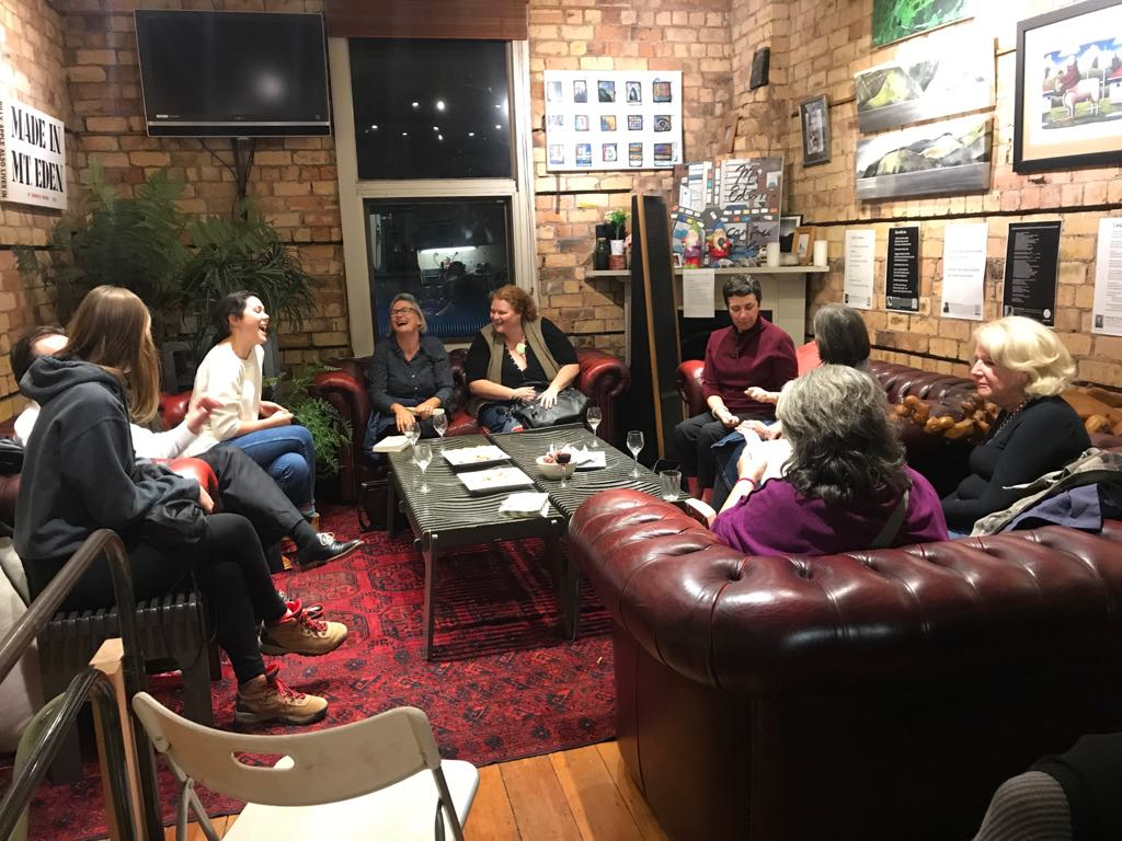 Photo: Inaugural Lit Reads Book Club  Frankenstein in Baghdad  April 23rd 2018
