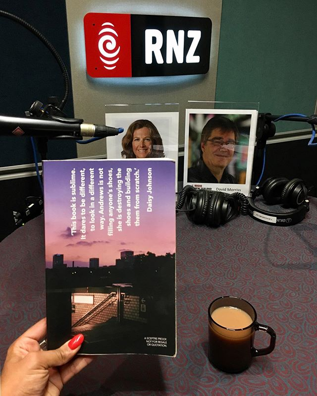 "On RNZ's Nine to Noon, Kiran reviewed the superb 'Saltwater' by Jessica Andrews. Kiran says, ""it's intoxicating. It absolutely knocked me for six!"" Listen on our website."
