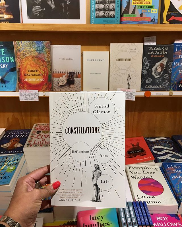 On RNZ's Nine to Noon, Kiran reviewed 'Constellations' by Sinéad Gleeson. It's a nuanced, rich and rewarding collection of essays about the body, trauma and pain, with brilliant flashes of art criticism and political commentary. Listen on our website!