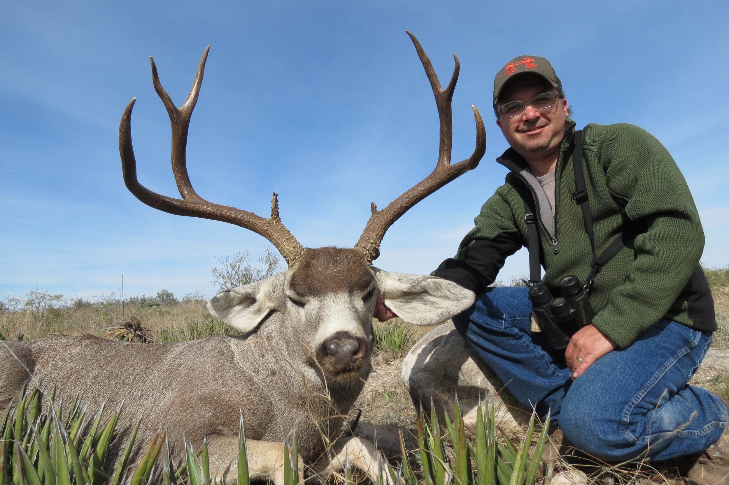 "Wide ""Crooki"" Mule Deer."
