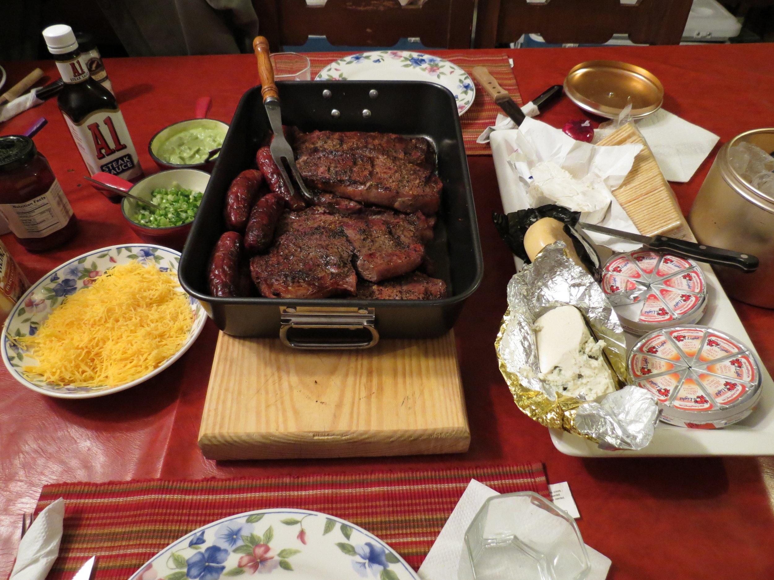 Grilled Steak for Dinner!