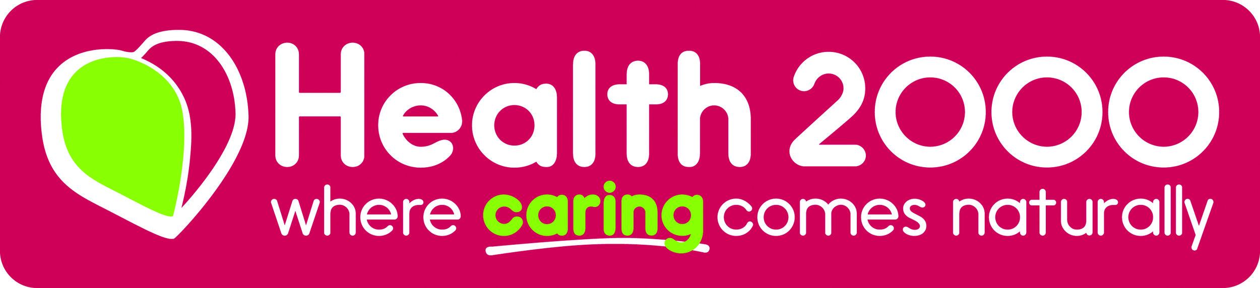 Health 2000 Logo 2014 Oblong