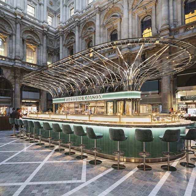 Love the decadence in this Fortnum and Mason installation 🔥👍 #puredesign #interiors #design #inspo #inspiration #collaboration #build #processmanagement