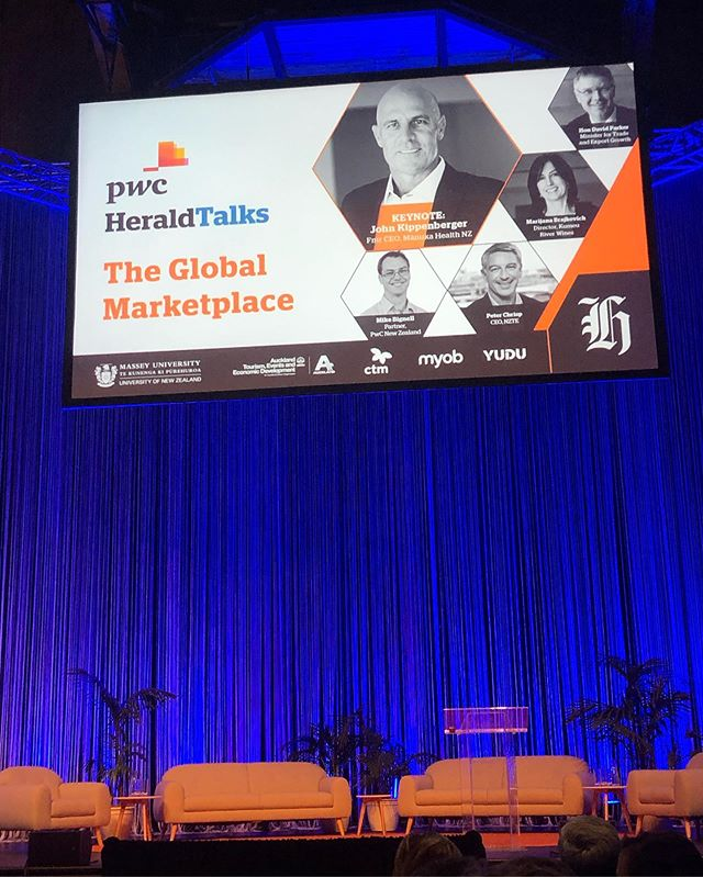 Looking forward to hearing the keynote on The Global Marketplace #pwcheraldtalks #networking #goingglobal #whatsnext