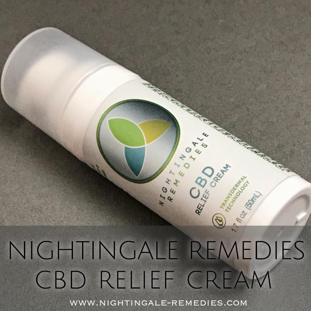 Nightingale Remedies - Looking for relief from joint and muscle pain? Nightingale Remedies CBD Cream is perfect for those everyday pains to the more persistent problems like arthritis. Nightingale is non-greasy with a fabulous smell with the just the right amount of eucalyptus, that doesn't overtake the room and uses the latest in Transdermal Technology to prove effective fast pain relief.I use Nightingale Remedies CBD Cream on sore muscles, pinched nerves, after yoga, and for my everything aches and pains and it works beautifully to keep me up and moving.Lyna ThompsonLearn more Nightingale-Remedies.comUse Code