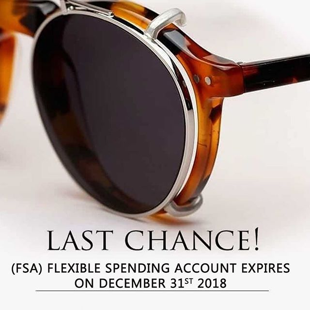 Make your appointment today for prescription eyewear or plano Sunglasses 🕶 • • • • #usedorloseit #flexiblespendingaccount #fsa #sunglasses #foresthills #foresthillsvision #optometrist