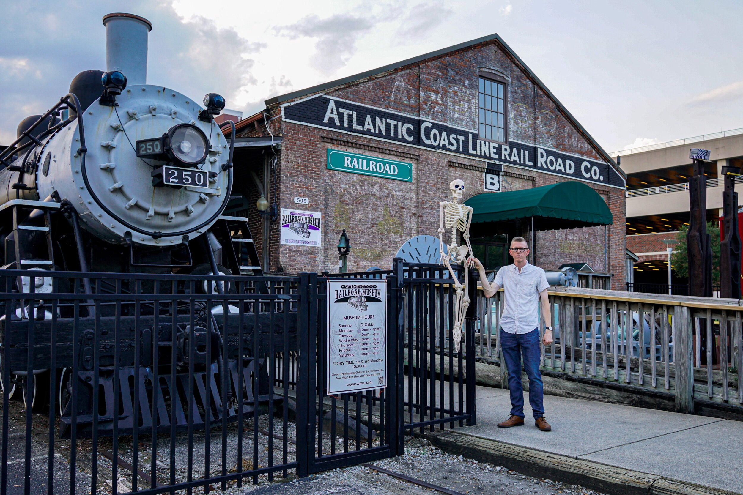 Wilmington Railroad Museum  http://www.wrrm.org/