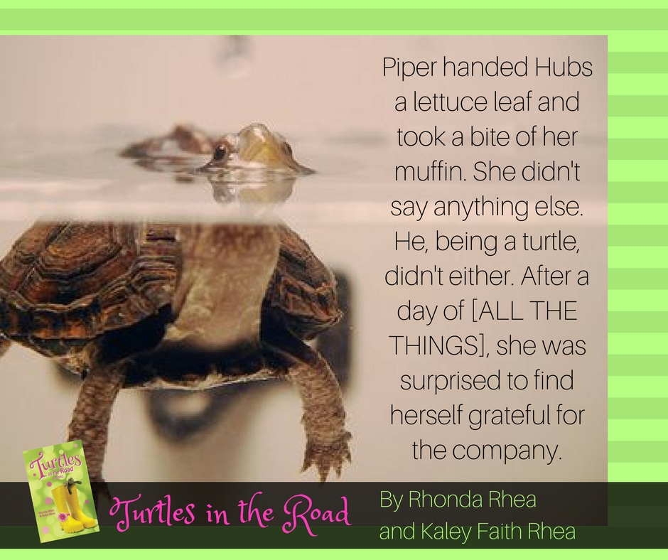 Piper handed Hubs a lettuce leaf and took a bite of her muffin.... She was surprised to find herself grateful for the company. Didn't even seem odd that she was dozing off on the toilet with her chin on her knee..jpg