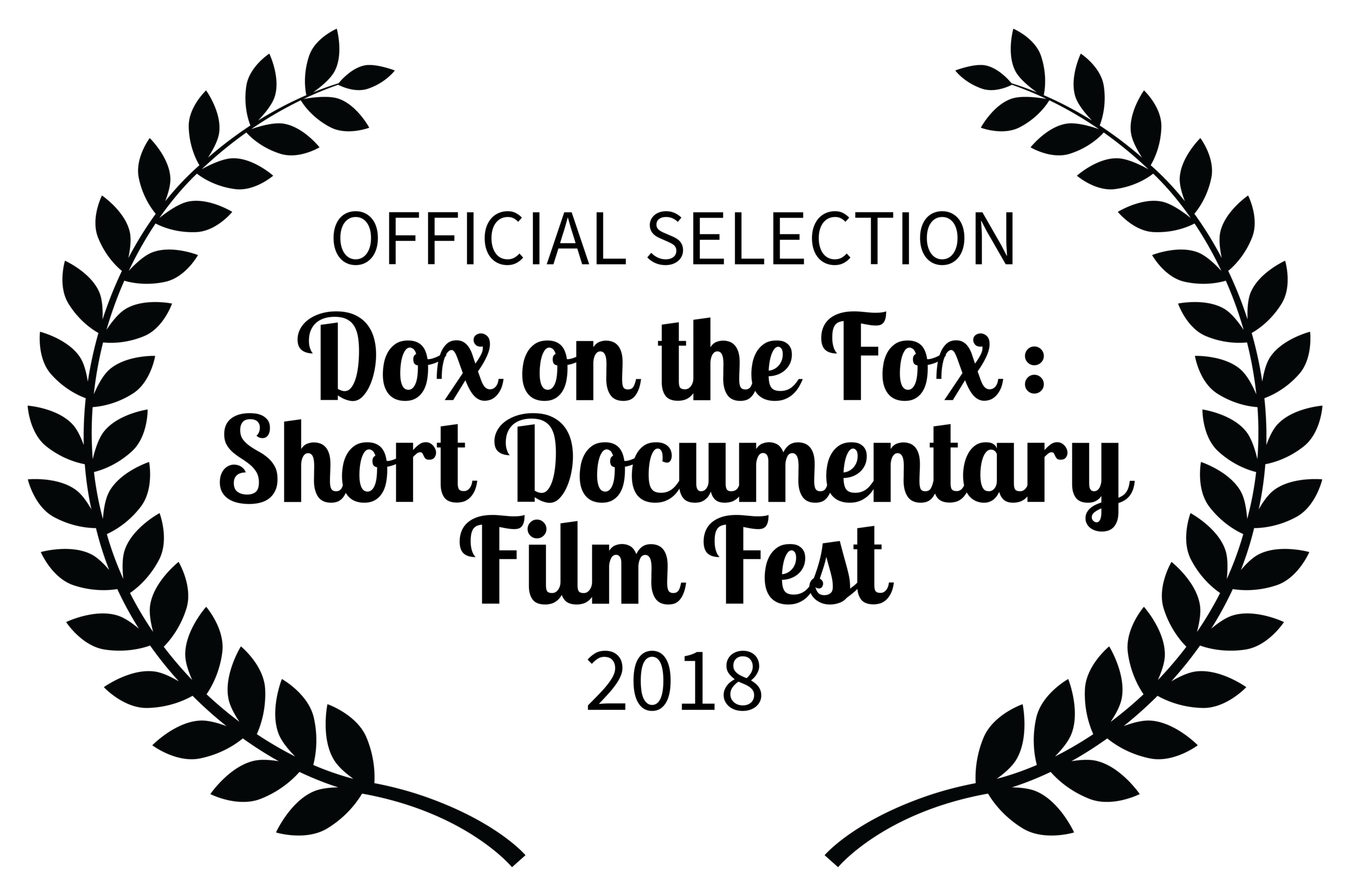 We've been selected! - Our documentary will be shown at the Dox on the Fox Film Fest on March 23rd at 6:30pm and March 24th at 10am. We're honored to take part.Get your tickets here!