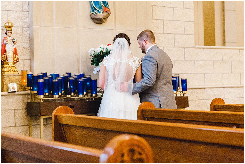 St. Catherine of Siena Wedding, Kansas Wedding Photographer, Wichita Kansas Wedding Photographer, church wedding, traditional wedding, wedding photography, wedding inspiration, unique wedding photos, classic wedding photos, church ceremony, ceremony photos
