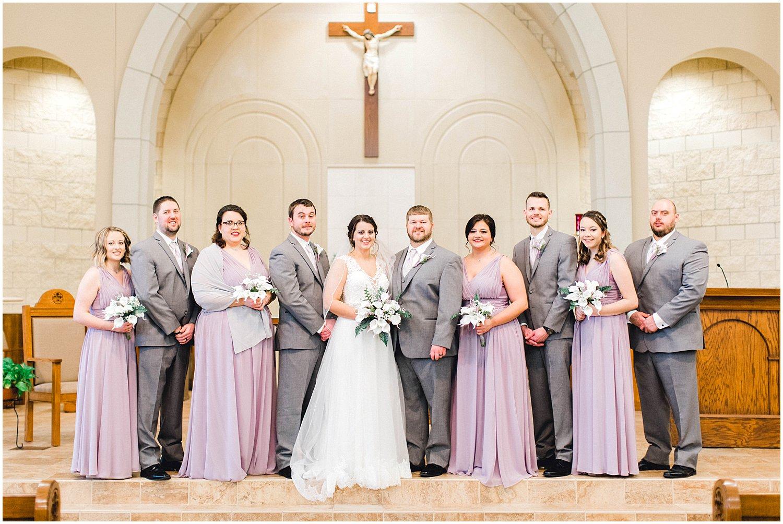 St. Catherine of Siena Wedding, Kansas Wedding Photographer, Wichita Kansas Wedding Photographer, church wedding, traditional wedding, wedding photography, wedding inspiration, unique wedding photos, classic wedding photos, wedding party photos