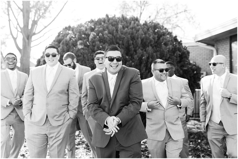 Hutchinson Kansas Wedding, Kansas Wedding Photographer, Wichita Wedding Photographer, church wedding, traditional wedding, catholic wedding, themed wedding, wedding photography, wedding inspiration, unique wedding photos, large wedding party, large wedding party posing inspiration