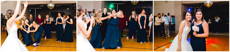 Hutchinson Kansas Wedding, Kansas Wedding Photographer, Wichita Wedding Photographer, church wedding, traditional wedding, catholic wedding, themed wedding, wedding photography, wedding inspiration, unique wedding photos, 80s themed reception, bouquet toss