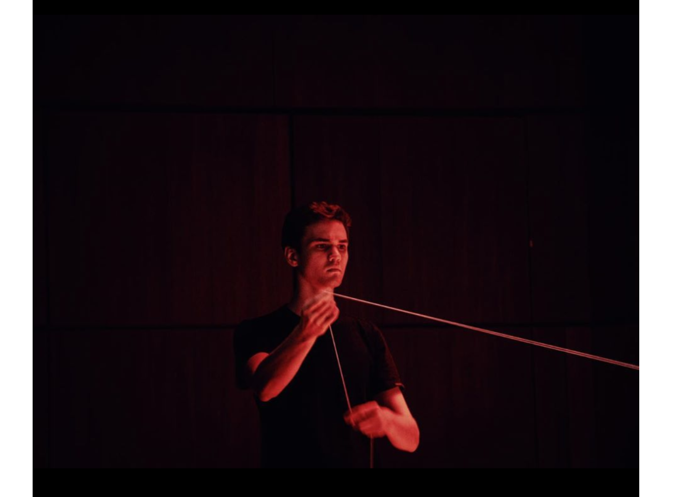 performing Jenny Beck's  Canvas Heart  at the Princeton Composer Concert.