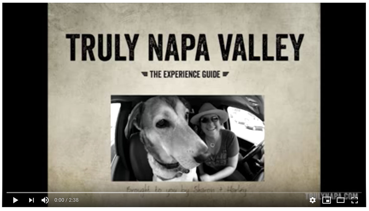 Truly Napa Valley, The Experience Guide : an iPad app