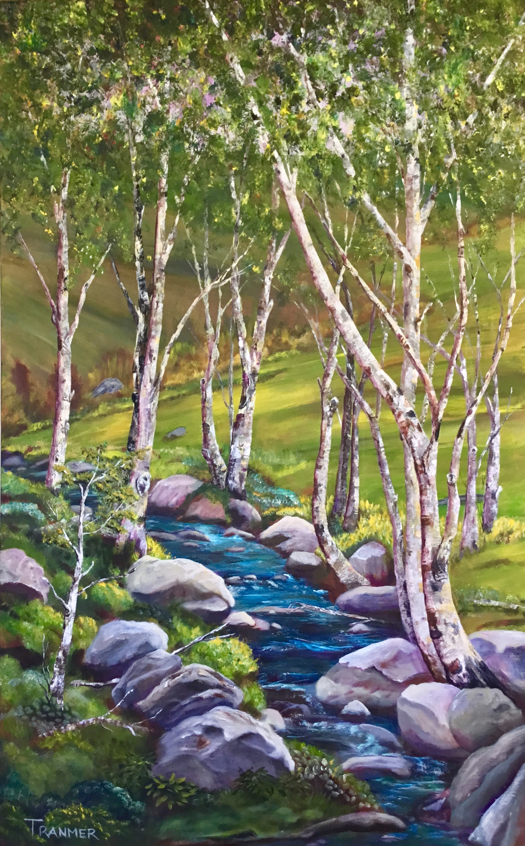 "Creekside  48""x30""  $4,200"