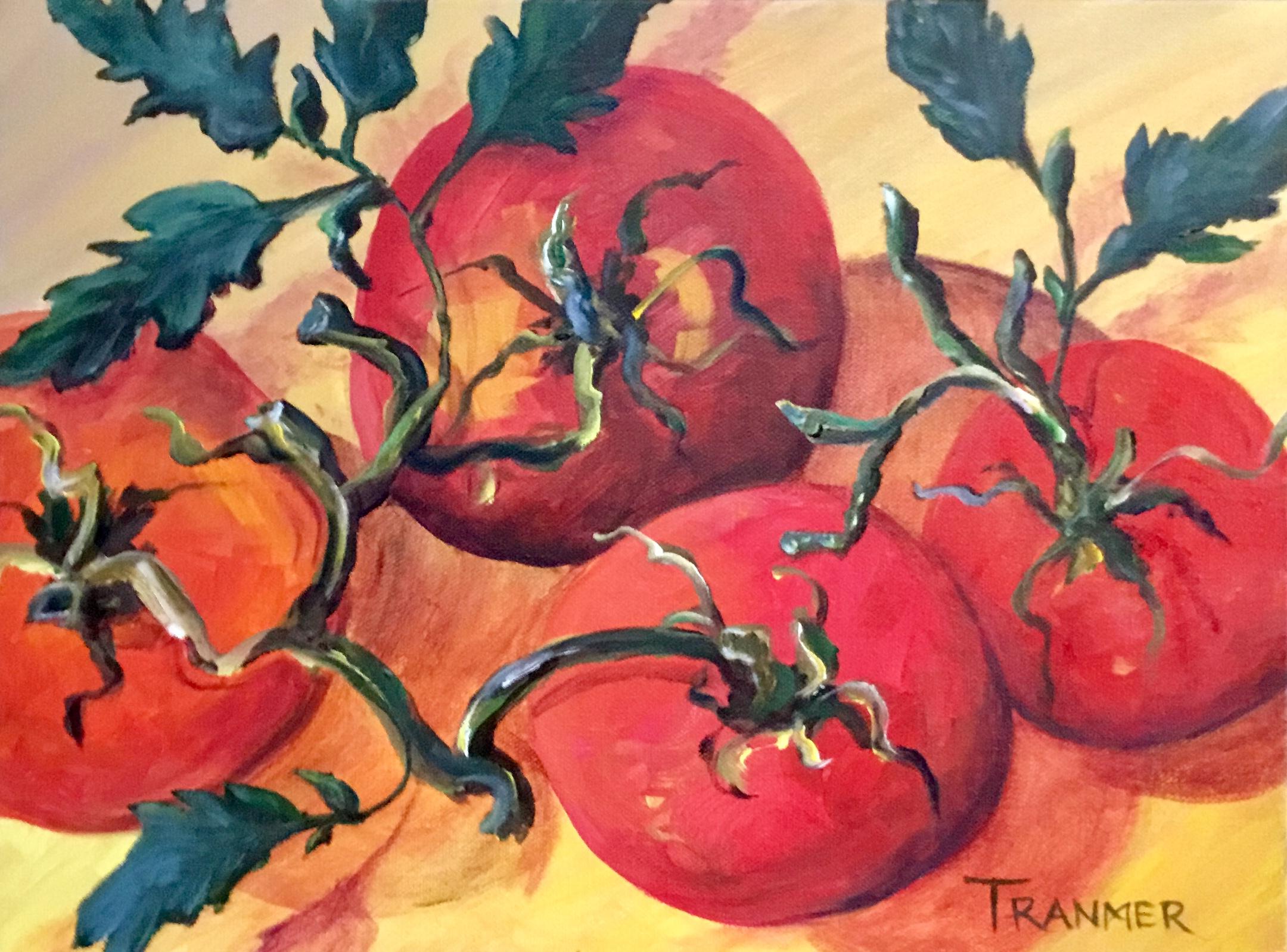 "Tasty Tomatoes 12""x16""  $500"