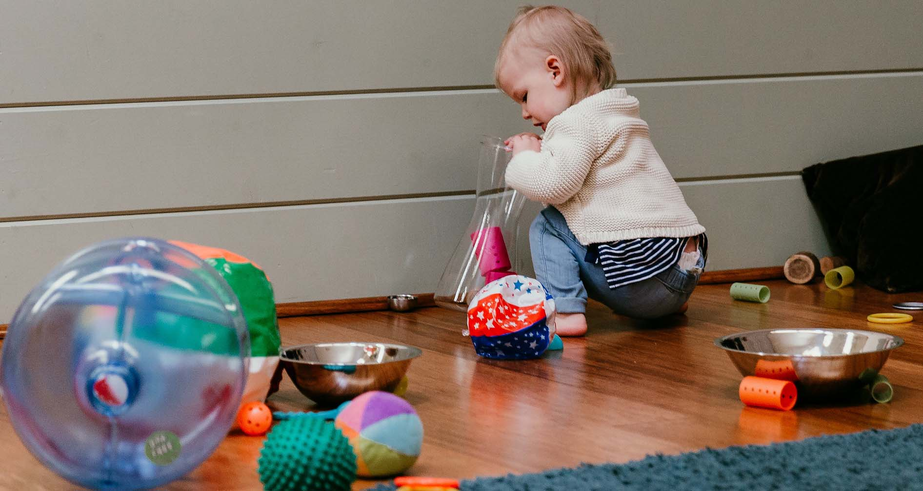 Toddler RIE toys yes space