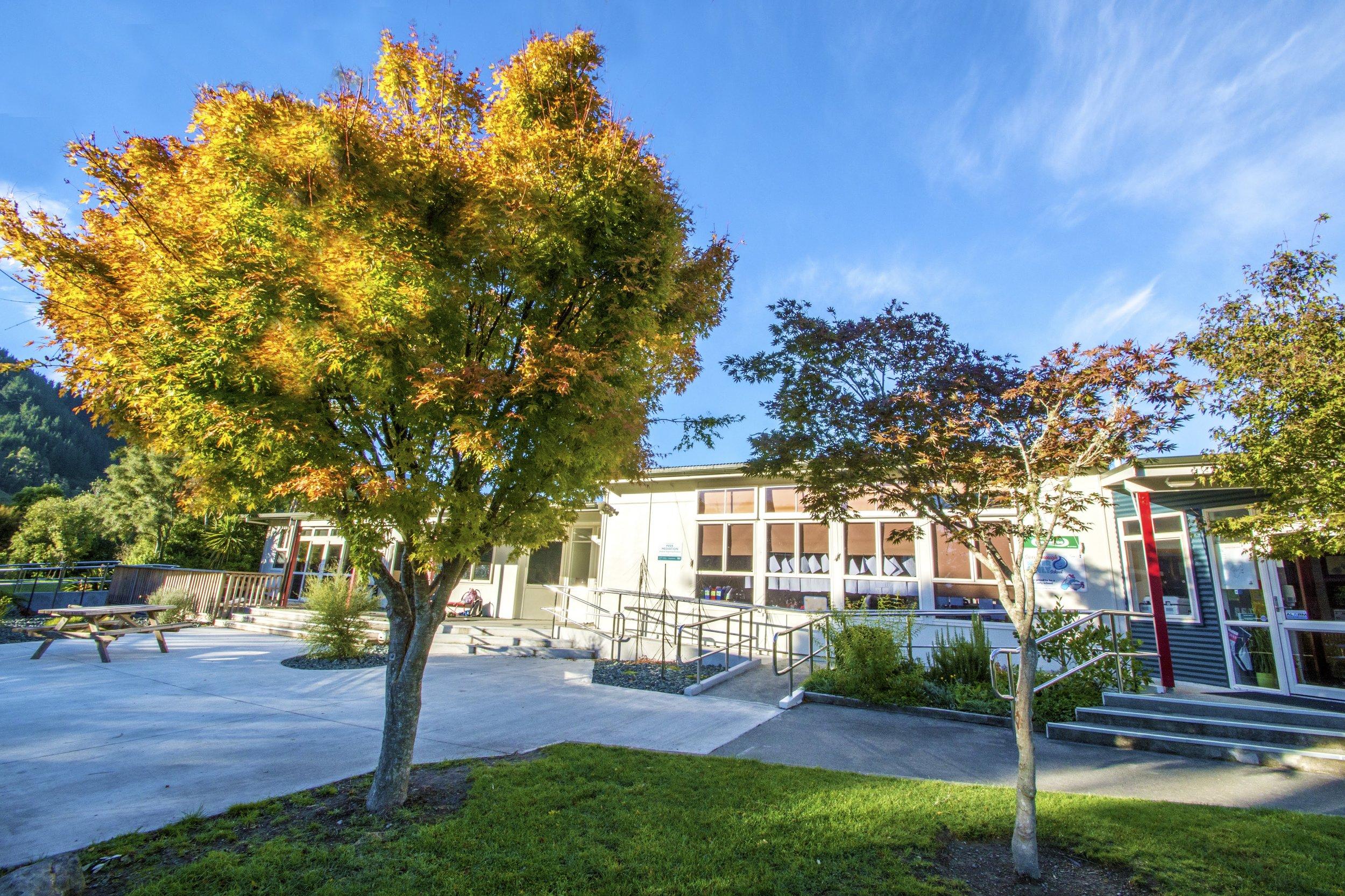 hira school frontage