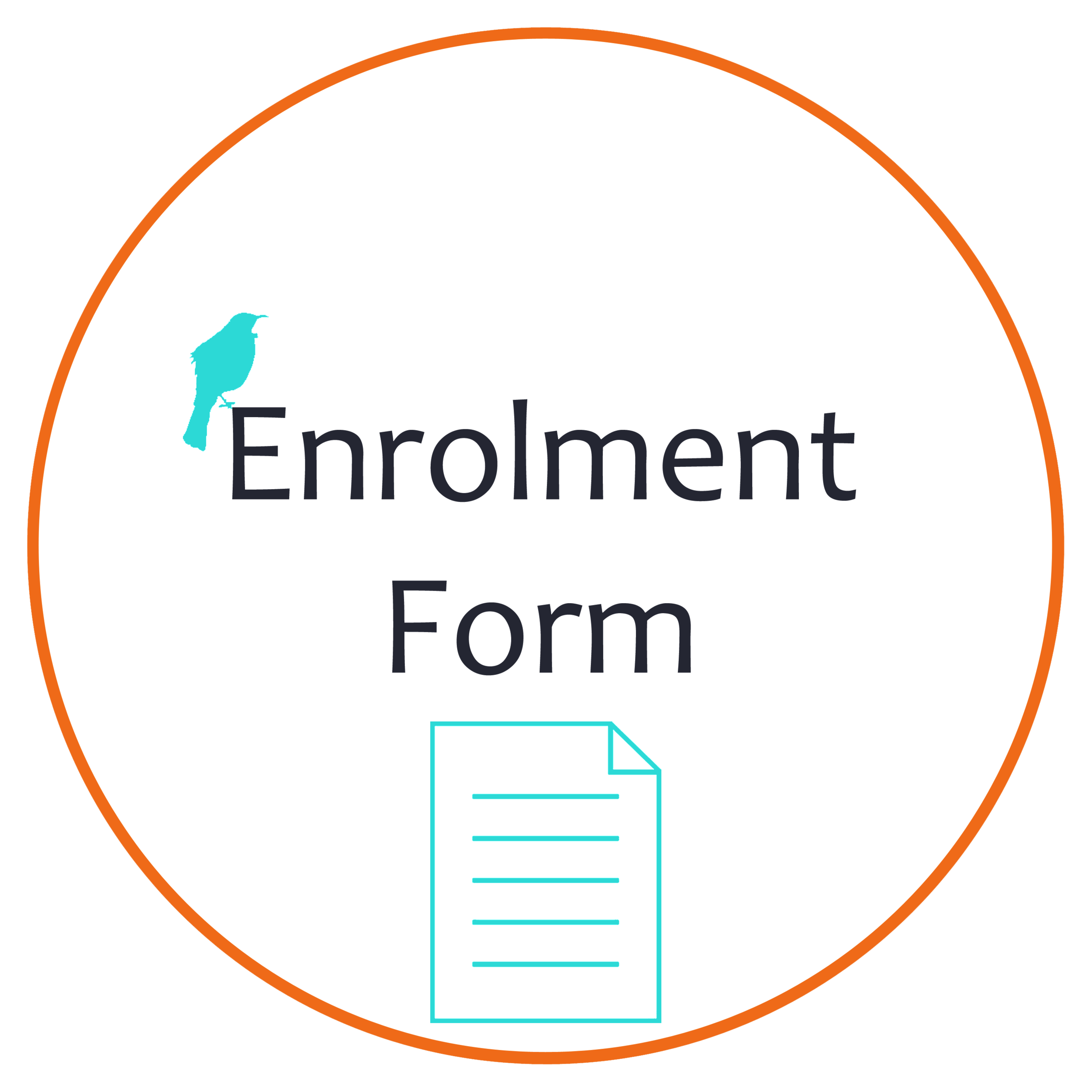 hira school enrolment form button