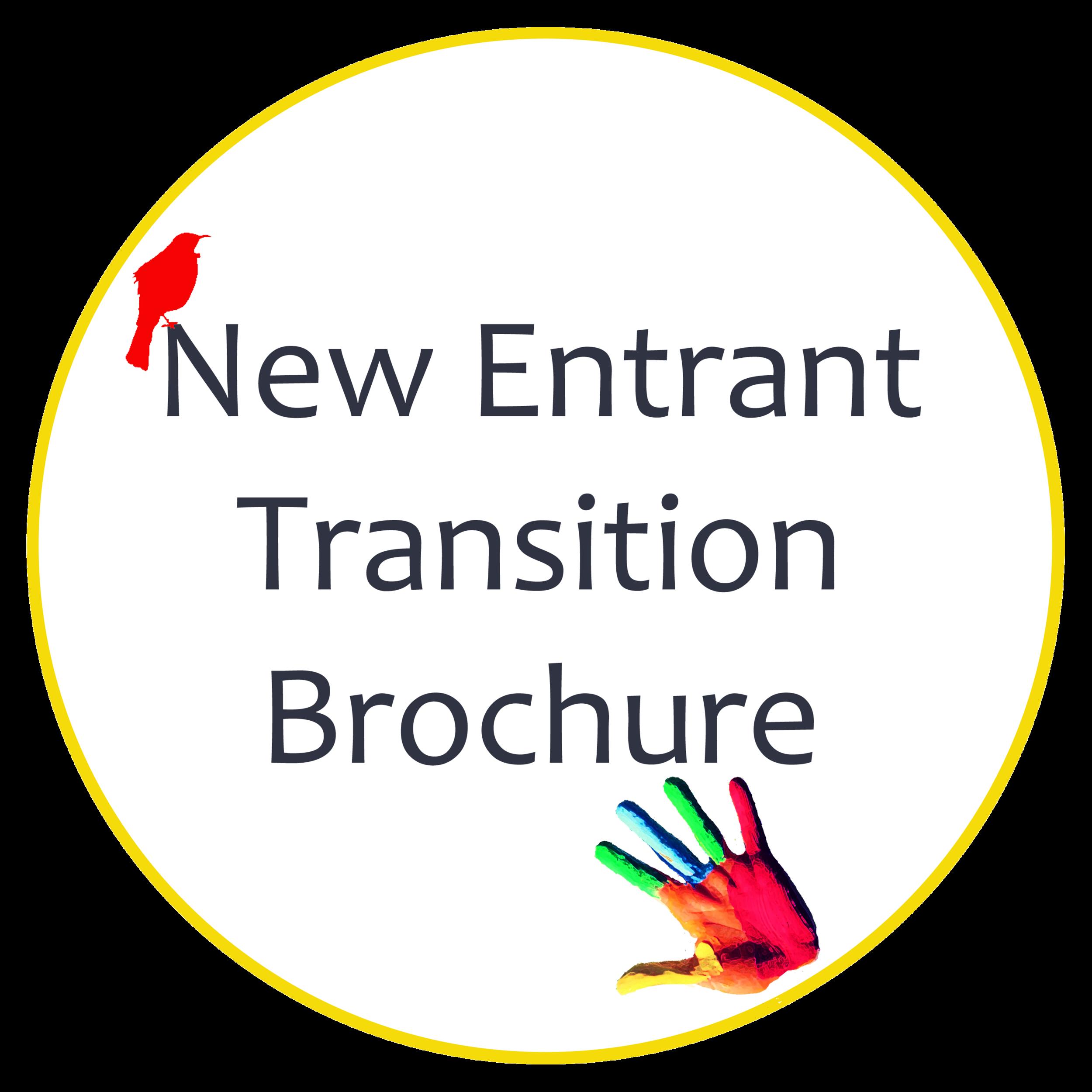New Entrant Transition Brochure Hira School Button