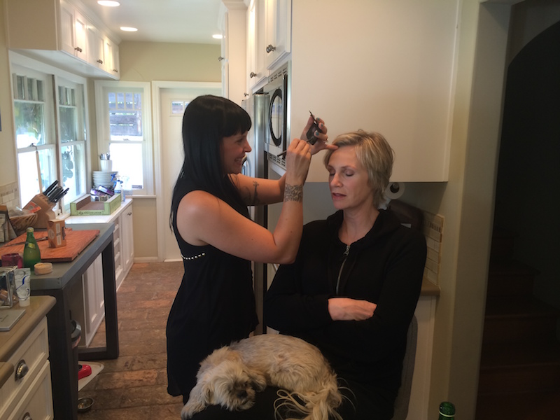 Makeup for Jane Lynch