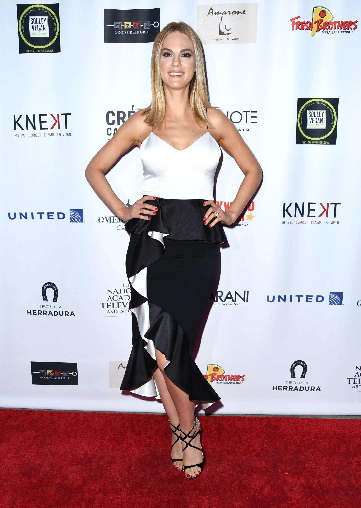 Makeup for Kelly Kruger Daytime Emmy Awards