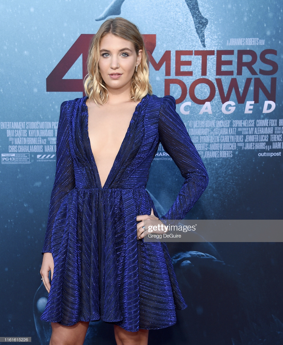 Makeup & Hair for Sophie Nelisse for the 47 Meters Down:Uncaged Premier