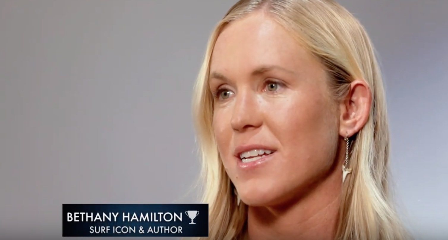 Makeup & Hair for Bethany Hamilton for 'The American Athlete'