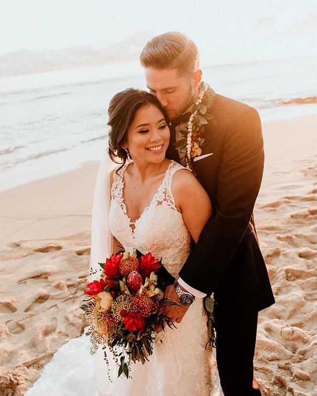 Congratulations Amy & Brandon. Photography by @derekwongphotography