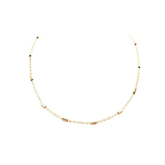 Shop The Caroline #taptoshop #goforgold #emilysongdesigns  ____  #fall #fallcollection #fallfashion #thelayeredlook #layer #gold #jewelry #handmadejewelry #necklace #earrings #hoops #fashion #fashionweek #simple #smallbusiness #squarespace #taptoshop #ootd #jotd #linkinbio