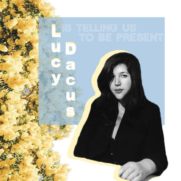 Photo credit to Lucy Dacus, artwork and story by Cheyenne Bilderback.