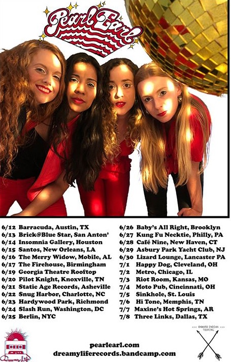 Tour dates from @pearlearlmusic on instagram