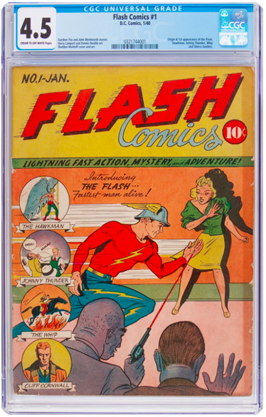 Flash 1 CGC 4.5