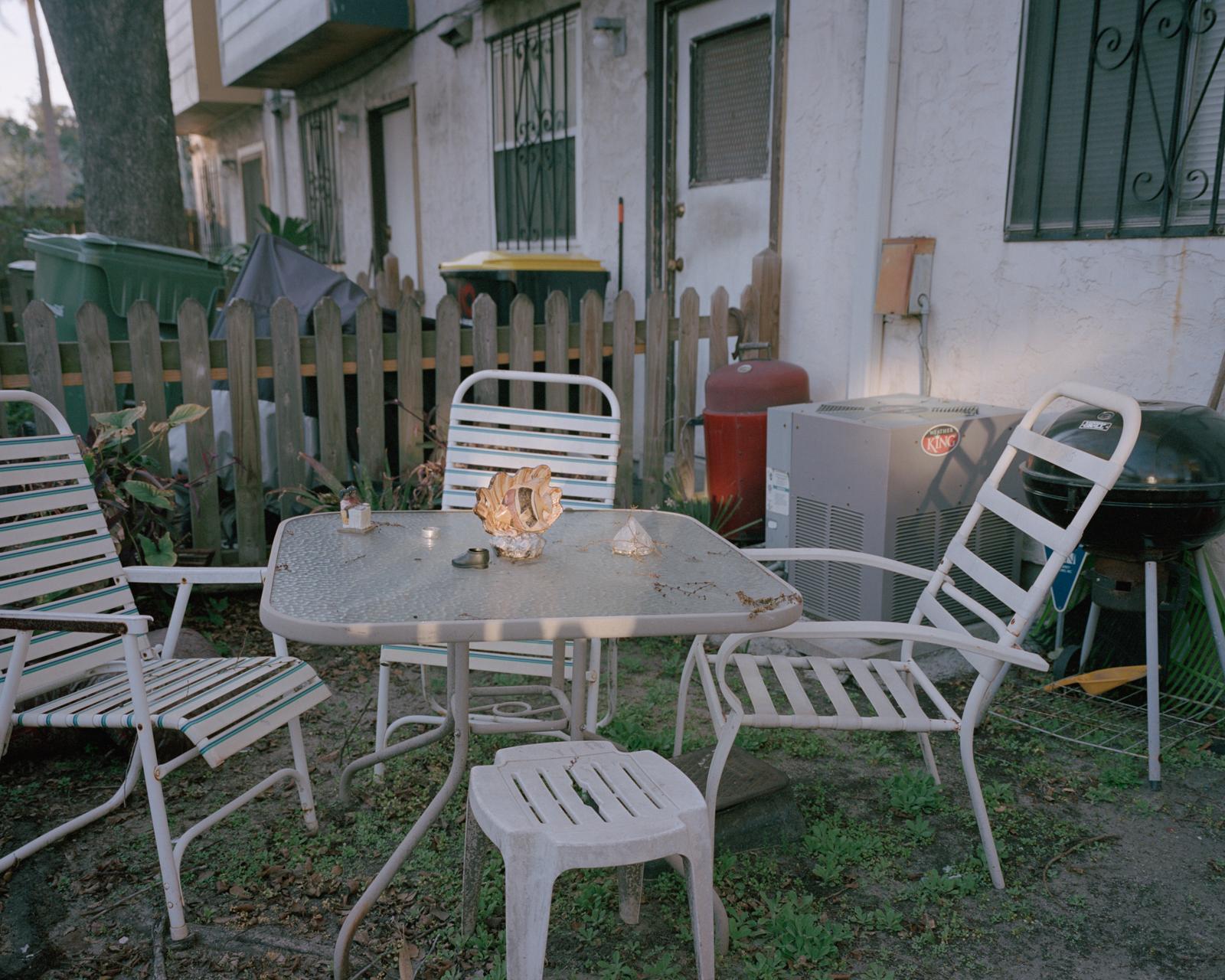Untitled (Backyard Shell)