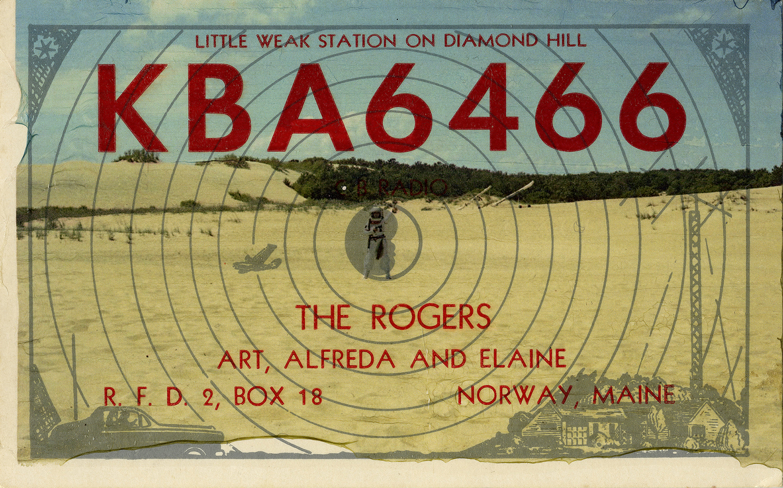 QSL Card Collection #1