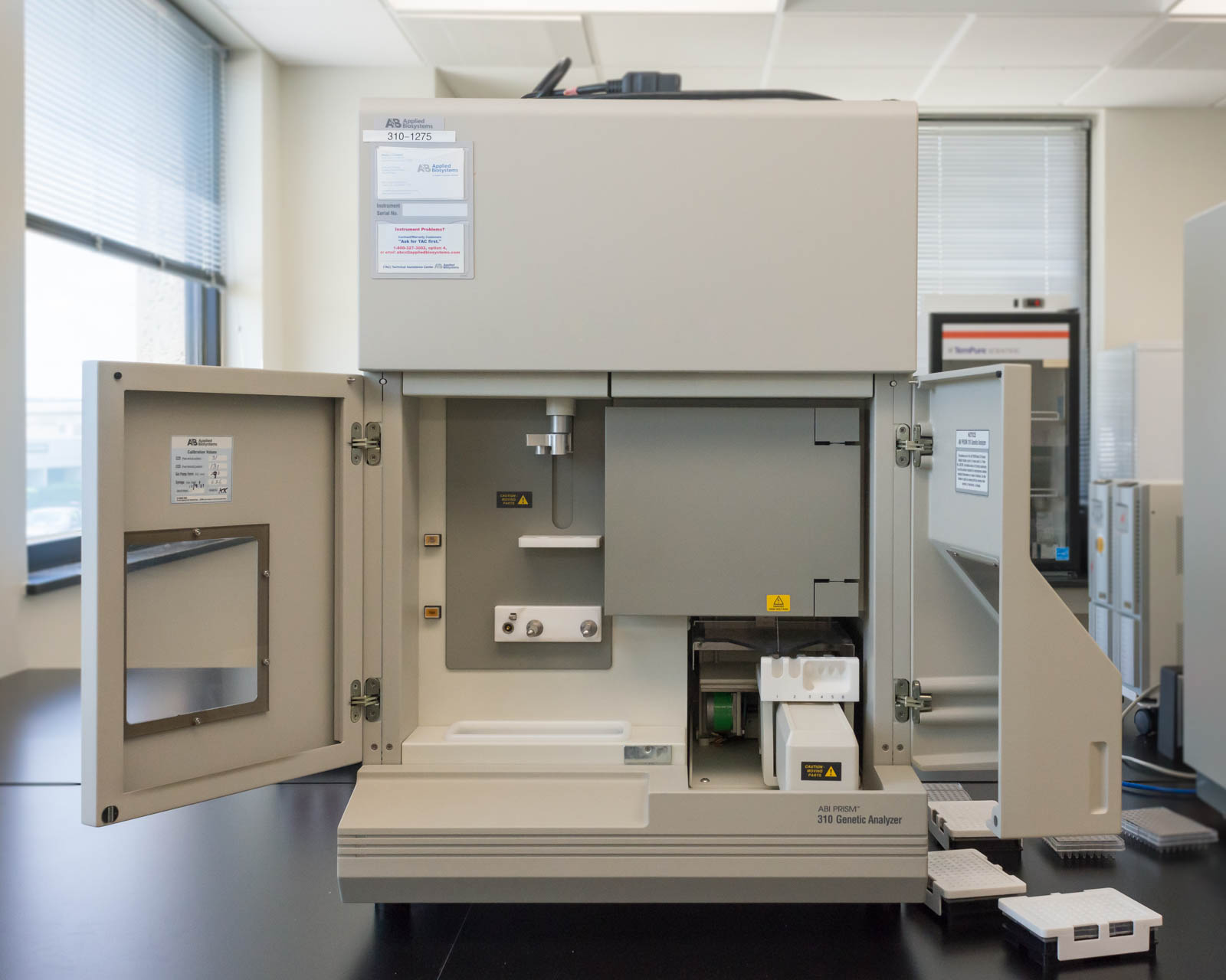 A machine which writes DNA profiles into the CODIS, Tulsa, Oklahoma, 2016