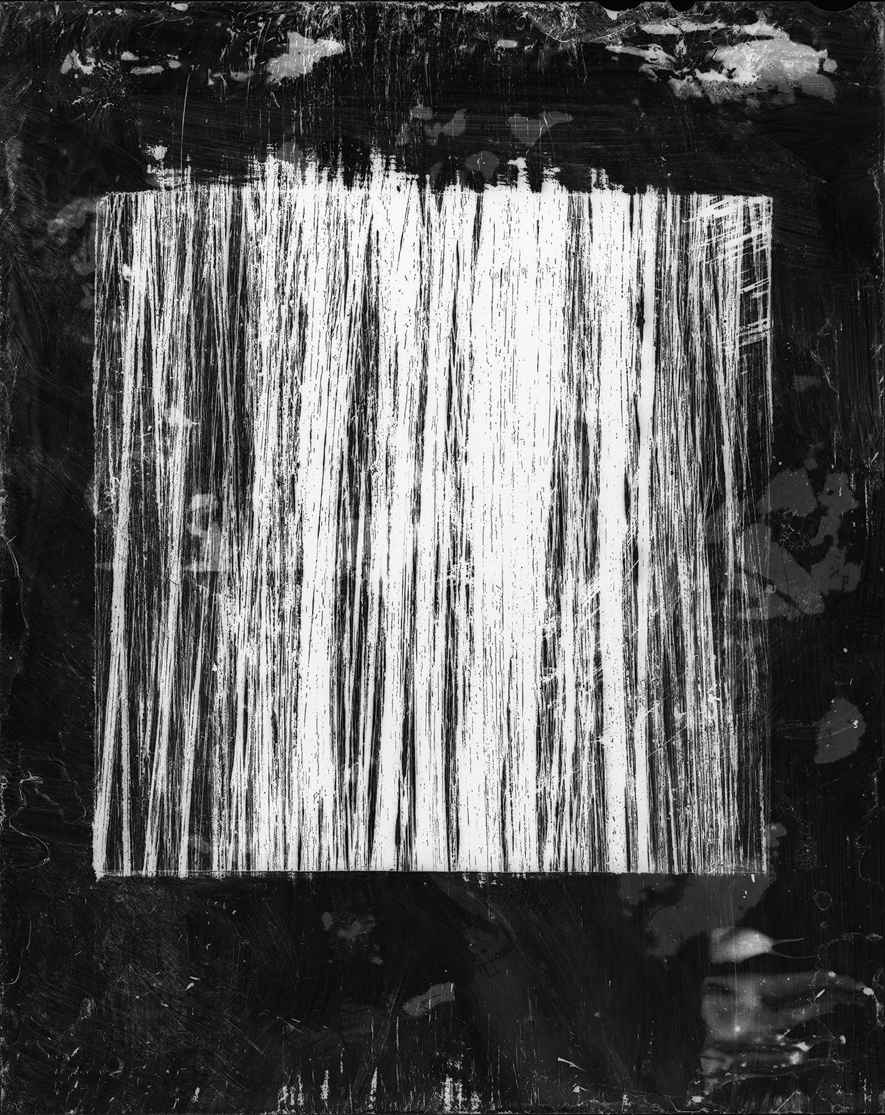 No. 27 (Black Ink, White Wash)