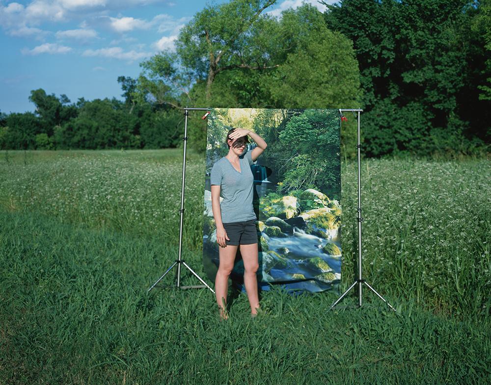 Kalee Appleton, In Two Landscapes, Dallas, Texas, 2016 © Ashley Kauschinger