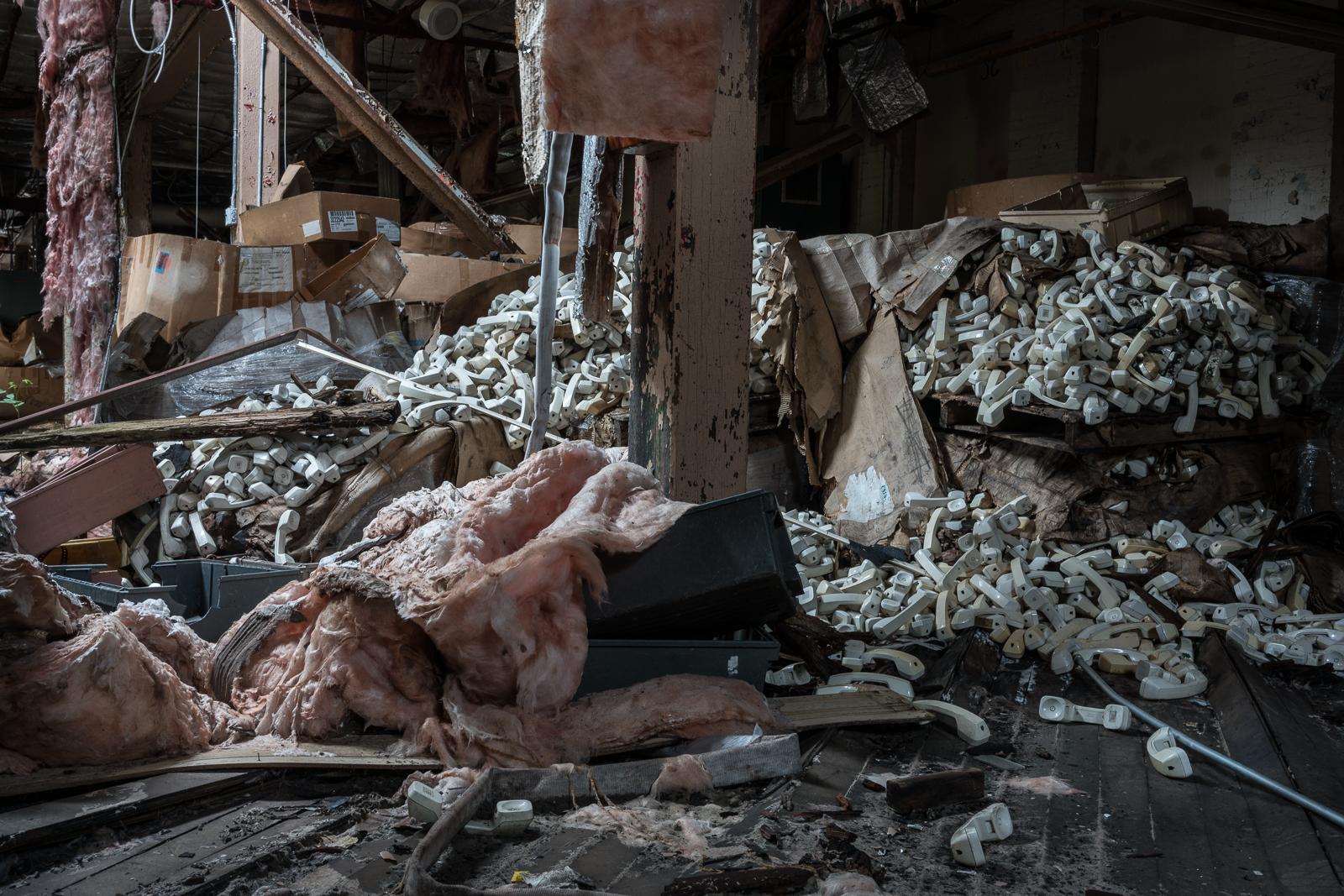 Site of the Former Shoe Company, De Soto, Missouri, 2017 © Nate Larson