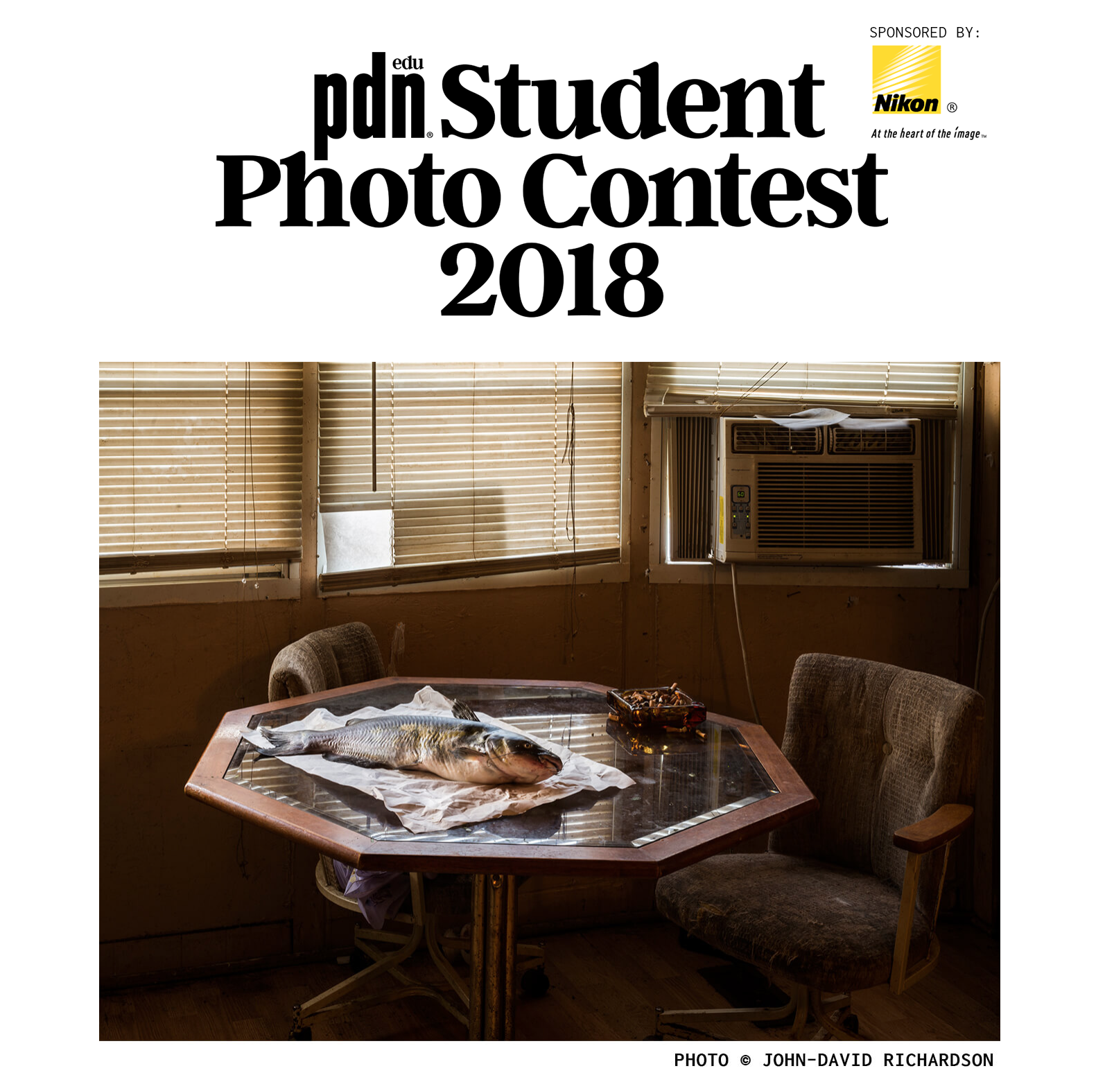 Grand Prize Winner, 2018 PDNedu Student Photography Contest   Kitchen Table , 2017