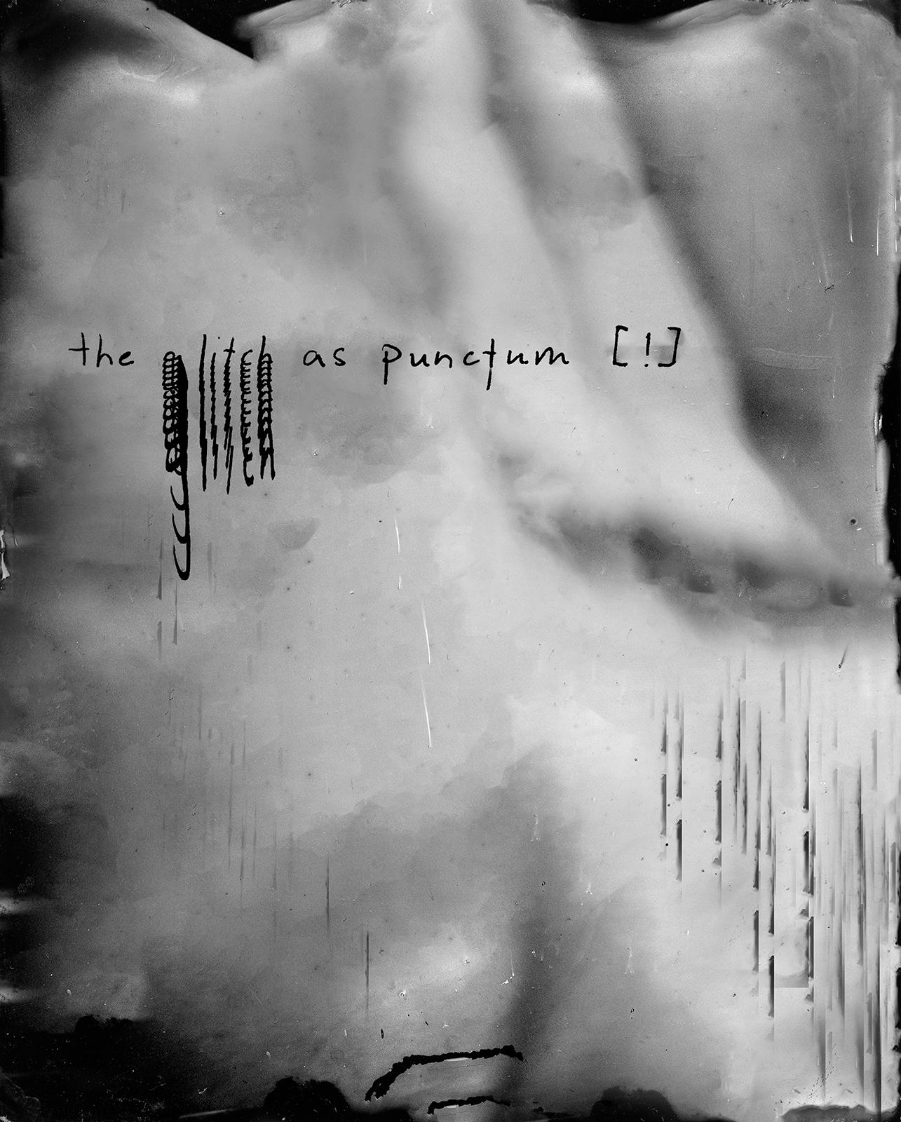 "Line VI  from  Nonplaces , 2017, Palladium Print (Digitally Manipulated Tintype), 8x6.5"""