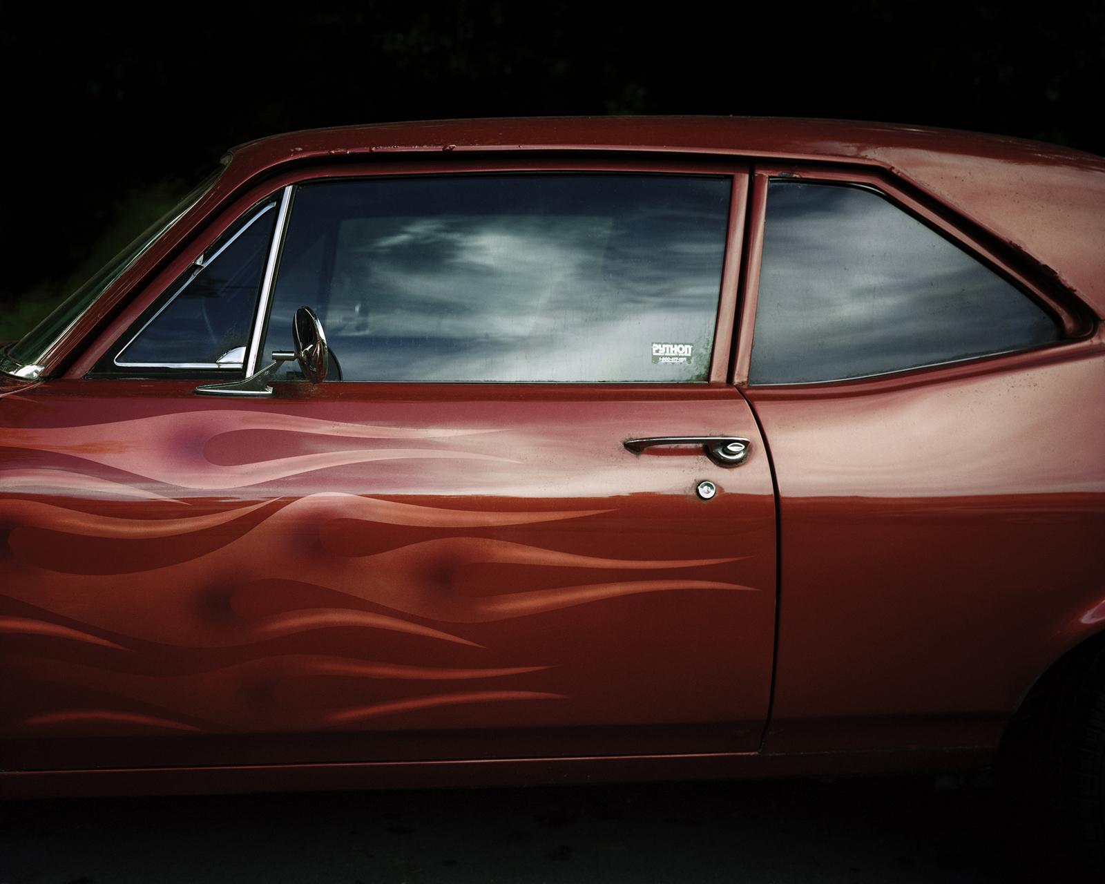 Car with Flames  © Shane Rocheleau