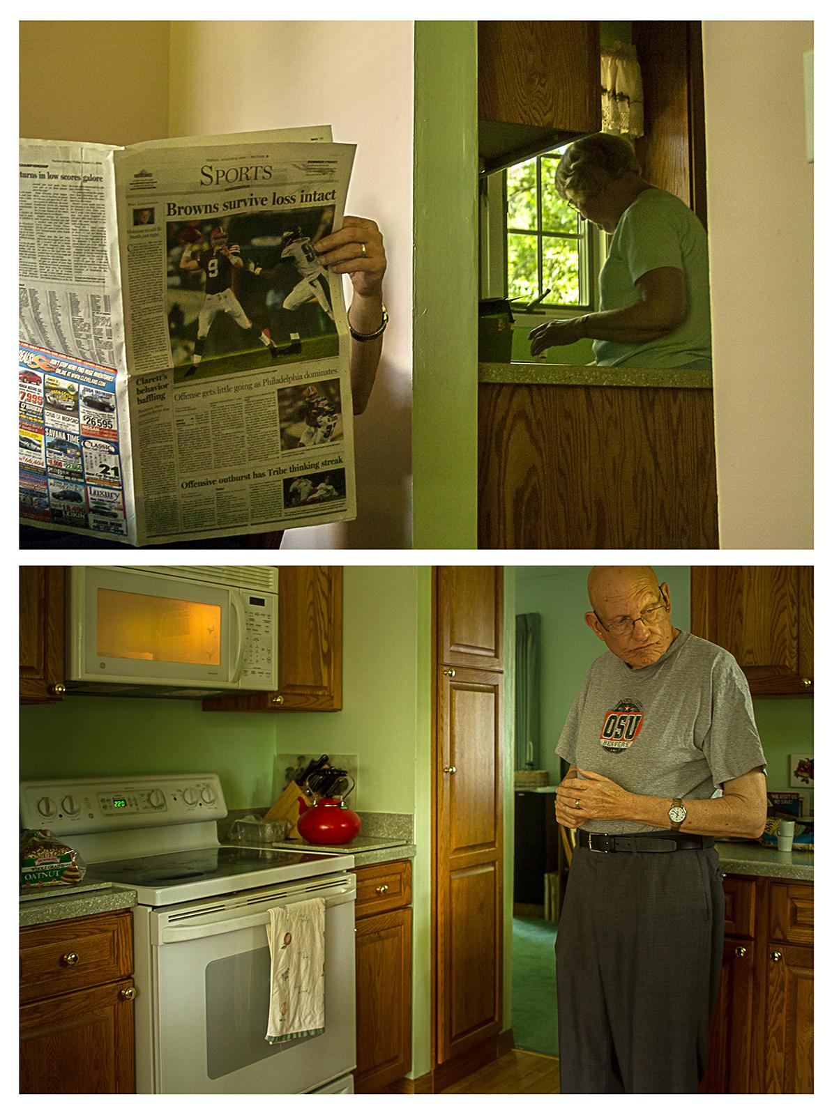 12pm – Making Lunch 2006/2016  ©   Chris Ireland