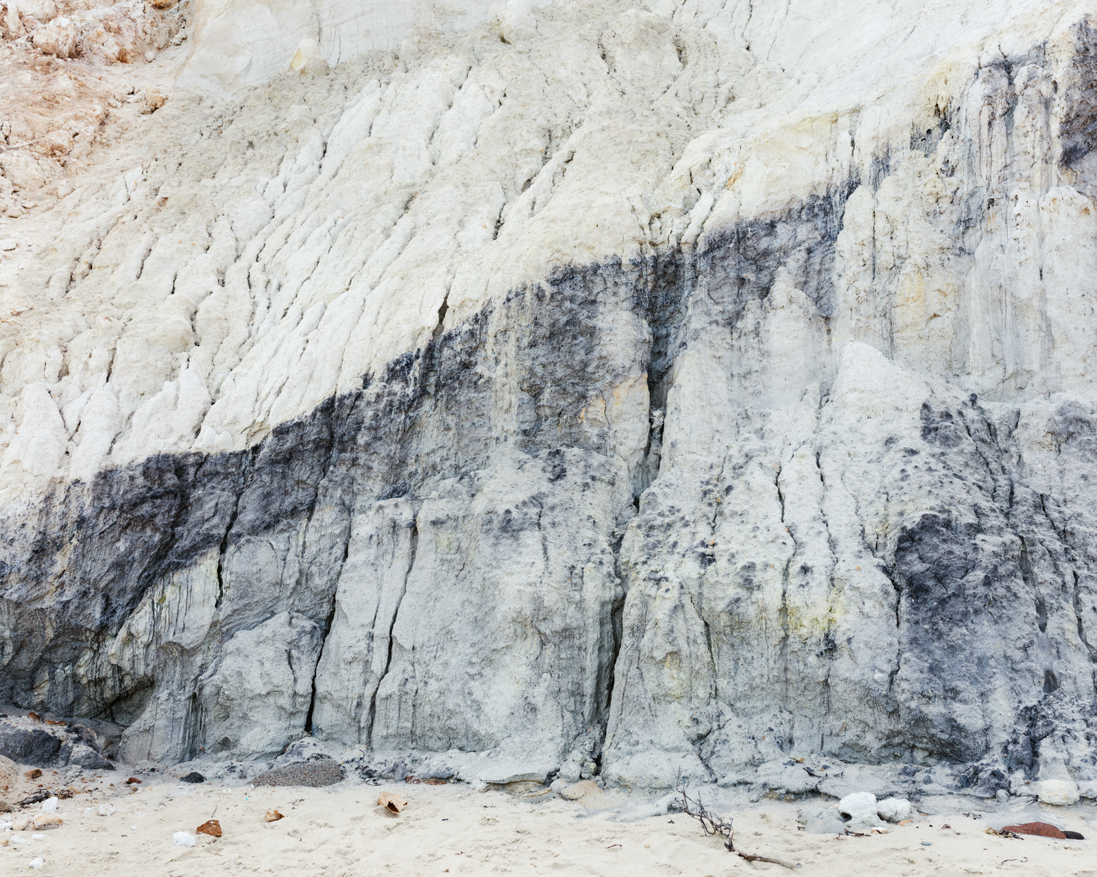 Erosion at Aquinnah,  2018 © Lily Brooks