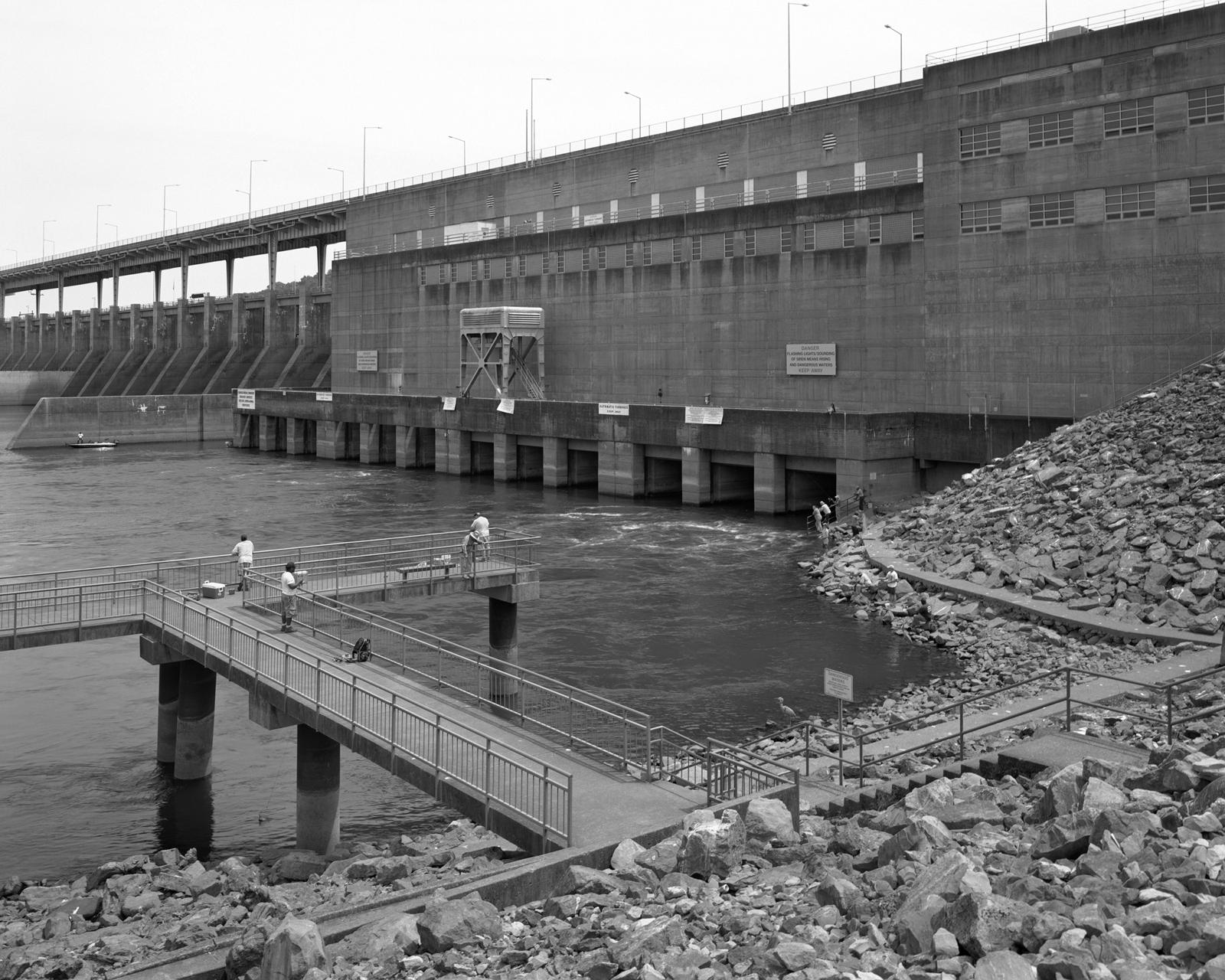 Chickamauga Dam, Tennessee River, TN  2014