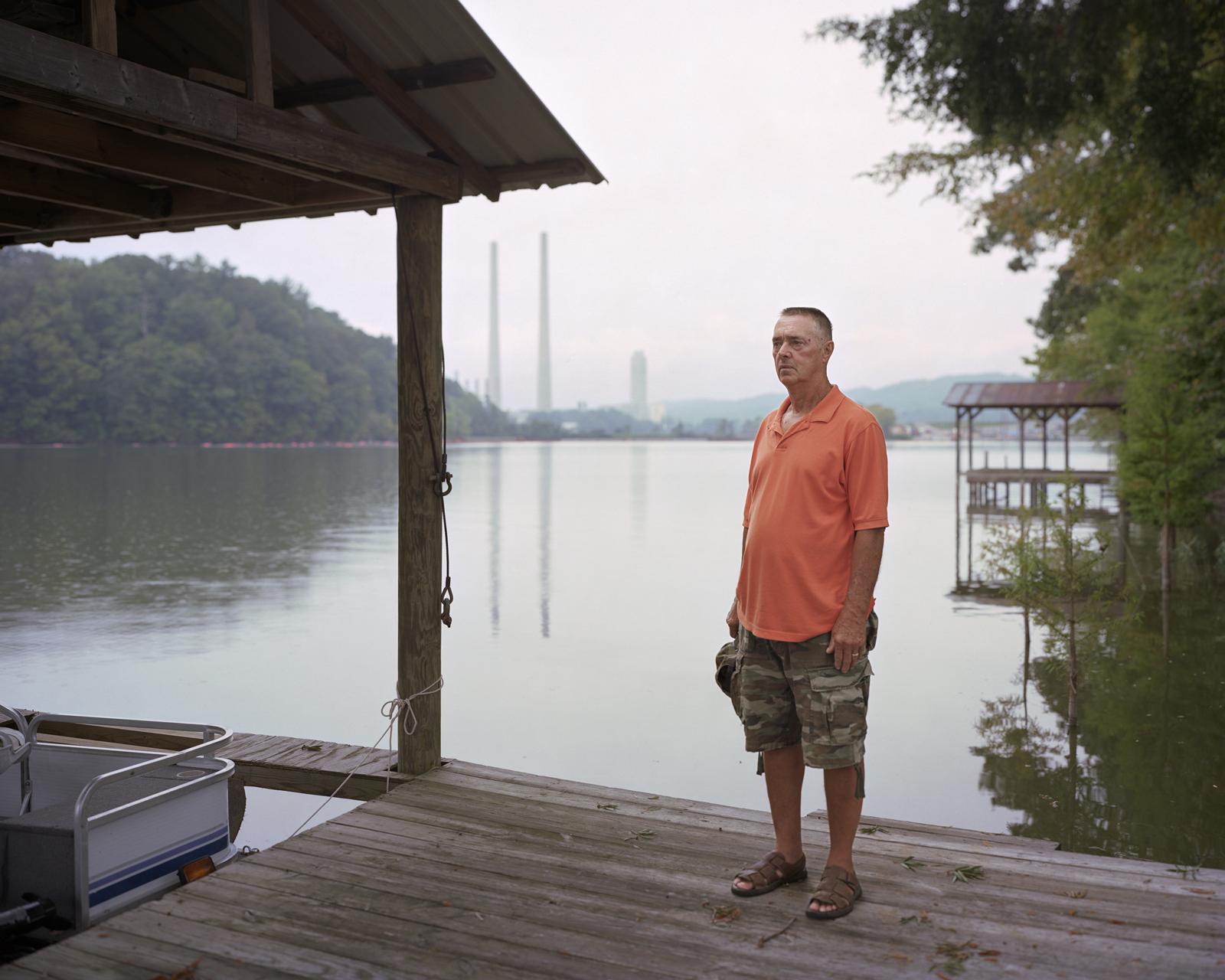 Glenn, Kingston Coal Ash Spill, Clinch River, Tennessee  2009