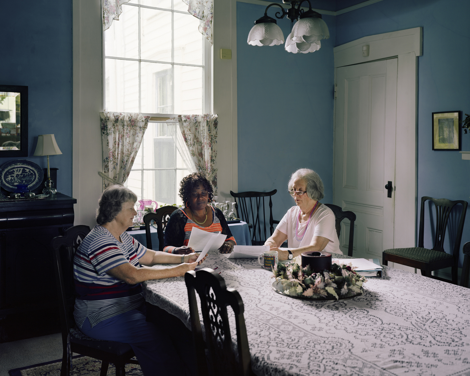 Mary, Esther and Ellis, Uniontown, Alabama  2014