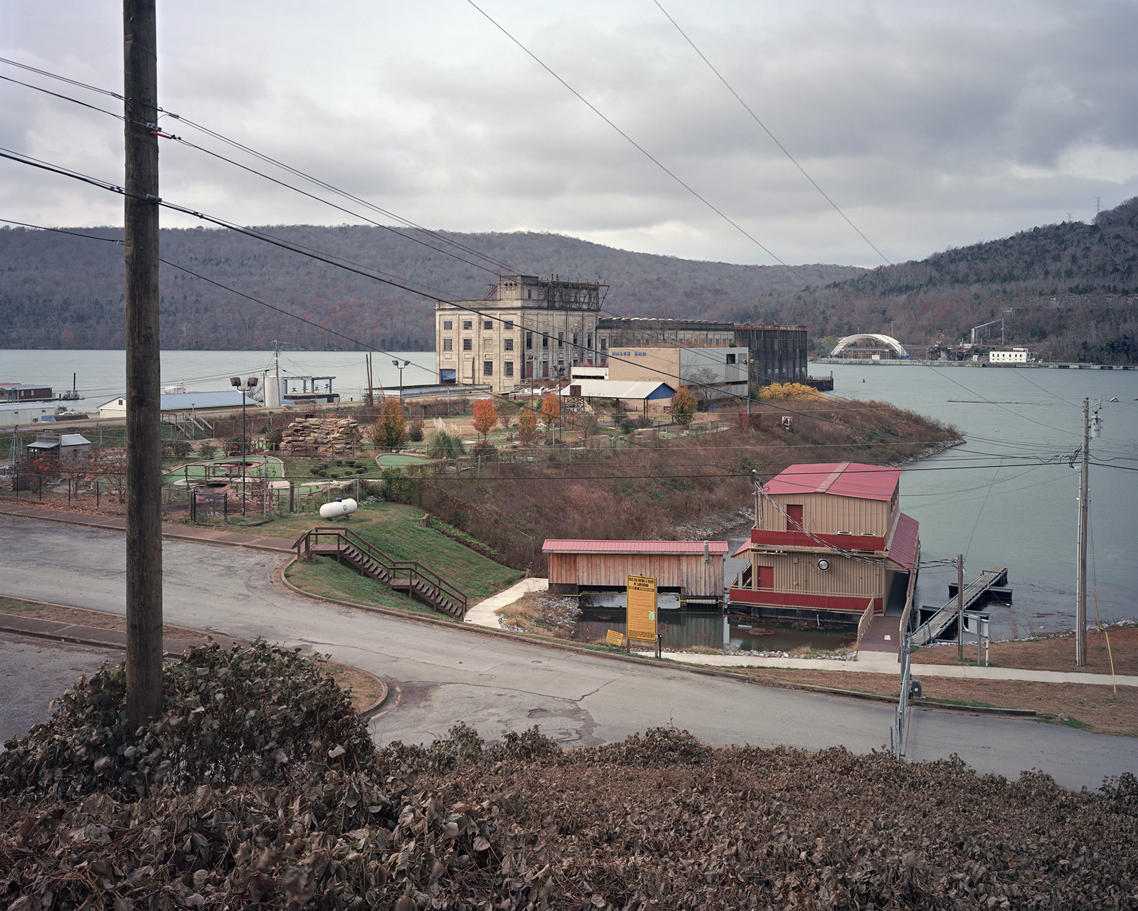Hales Bar Dam, Tennessee River, Haletown, Tennessee  2013